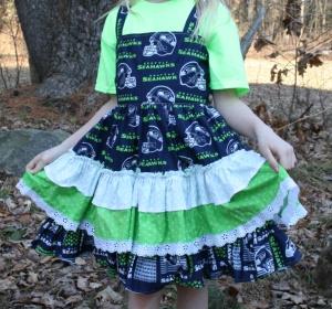 Seahawk dress